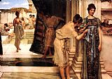 Sir Lawrence Alma-Tadema The Frigidarium painting