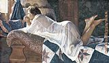 Steve Hanks Matters of the Heart painting