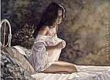 Steve Hanks Second thonghts painting