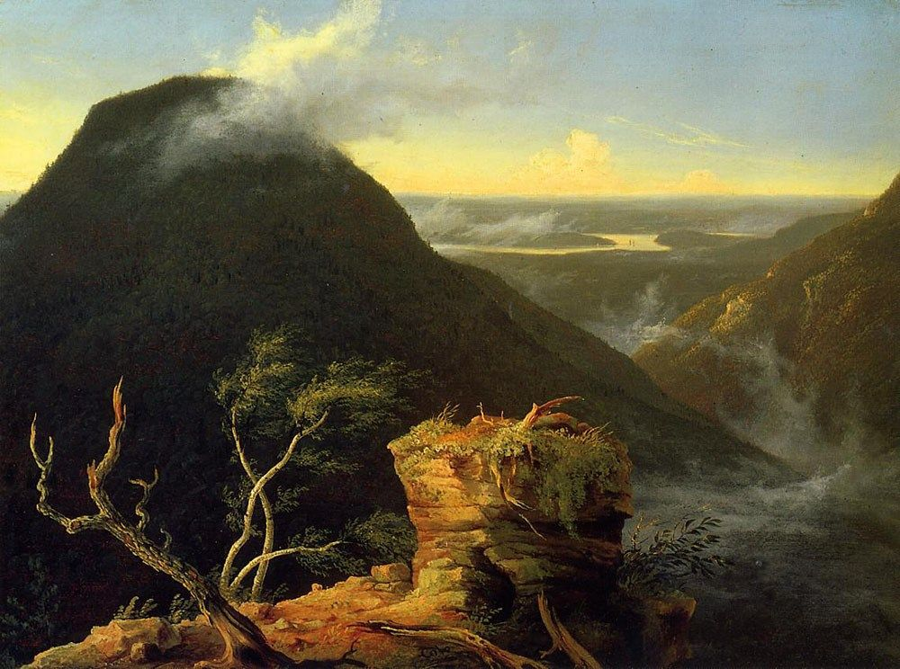Thomas Cole Sunny Morning on the Hudson River