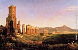 Thomas Cole Aqueduct near Rome painting