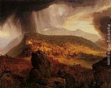 Thomas Cole Catskill Mountain House The Four Elements painting