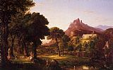 Thomas Cole Dream of Arcadia painting