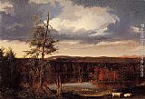 Thomas Cole Landscape, the Seat of Mr. Featherstonhaugh in the Distance painting