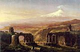 Thomas Cole Mount Aetna from Taormina painting