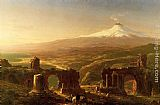 Thomas Cole Mount Etna from Taormina painting