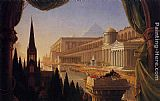 Thomas Cole The Architect's Dream painting