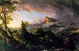 Thomas Cole The Course of Empire The Savage State painting