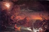 Thomas Cole The Voyage of Life Manhood painting