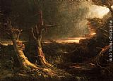 Thomas Cole Tornado painting