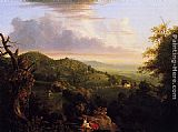 Thomas Cole View of Monte Video, Seat of Daniel Wadsworth, Esq. painting