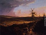 Thomas Cole View on the Schoharie painting