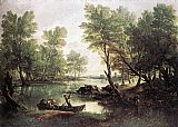 Thomas Gainsborough River Landscape painting