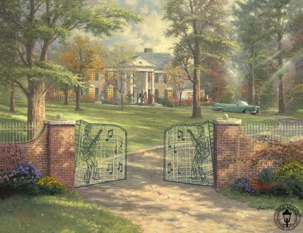Thomas Kinkade Graceland