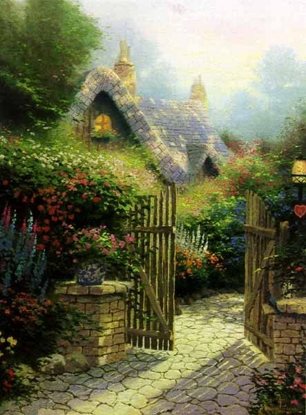 Thomas Kinkade Hidden Cottage II