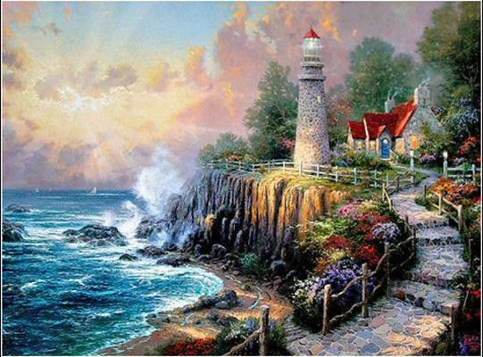 Thomas Kinkade The Light of Peace