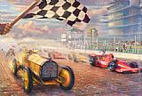 Thomas Kinkade A Century of Racing! The 100th Anniversary Indianapolis 500 Mile Race painting