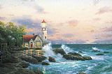 Thomas Kinkade Beacon of hope painting
