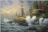 Thomas Kinkade Courage painting