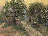 Thomas Kinkade Garden of Gethsemane painting