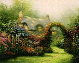 Thomas Kinkade Glory of Morning painting