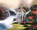 Thomas Kinkade Hidden Arbor painting