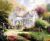 Thomas Kinkade Home Is Where The Heart Is II painting