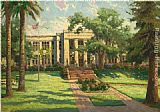 Thomas Kinkade Los Gatos High School painting