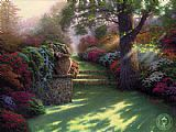Thomas Kinkade Pathway to Paradise painting