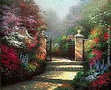 the garden of prayer Paintings - The Victorian Garden