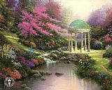 Thomas Kinkade the Pools of Serenity I painting