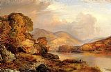 Landscape paintings - Autumn Landscape by Thomas Moran