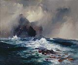 Thomas Moran Fingal's Cave, Island of Staffa, Scotland painting