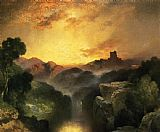 Thomas Moran Land of Dreams painting