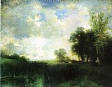 Thomas Moran Lowery Day painting