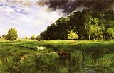Thomas Moran Summer Squall painting