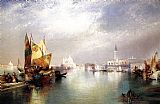Venice paintings - The Splendor of Venice by Thomas Moran