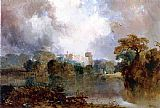 Thomas Moran Windsor Castle painting