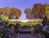 Tom Mostyn The Terrace painting