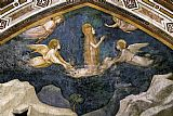 Unknown Life of Mary Magdalene Mary Magdalene Speaking to the Angels By Giotto di Bondone painting