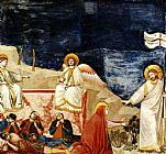 Mary Magdalene paintings - Life of Mary Magdalene Noli me tangere By Giotto by Unknown