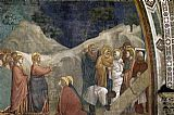 Mary Magdalene paintings - Life of Mary Magdalene Raising of Lazarus By Giotto di Bondone by Unknown