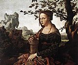 Unknown Mary Magdalene By Jan van Scorel painting