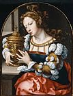 Mary Magdalene paintings - Mary Magdalene By John Gossaert by Unknown