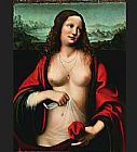 Mary Magdalene paintings - Mary Magdalene holy grail by Unknown