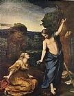 Unknown Noli me Tangere By Corregio 1525 painting