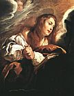 Mary Magdalene paintings - Saint Mary Magdalene Penitent By Domenico Feti by Unknown