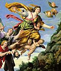 Unknown The Assumption of Mary Magdalene into Heaven Domenichino painting