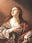 Mary Magdalene paintings - The Penitent Magdalene By Guido Reni by Unknown