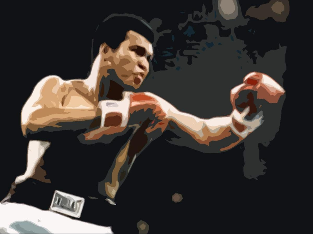 Unknown Muhammad Ali pop art